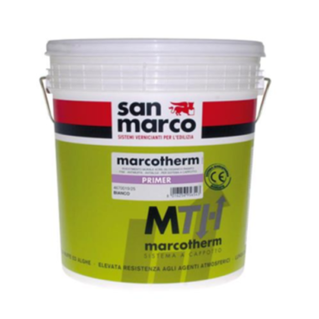 MARCOTHERM PRIMER – Fixativ mural diluabil în apă cu putere mare de acoperire pentru interior şi exterior