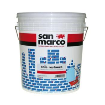 STILE RESTAURO – Tencuială decorativă de exterior granulaţie 1,8 (înveliş mural efect spatulat asperitate 1,8)
