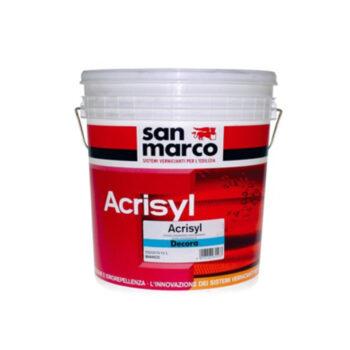 ACRISYL DECORA – Învelis decorativ pentru exterioare acrilic cu modificare siloxanica