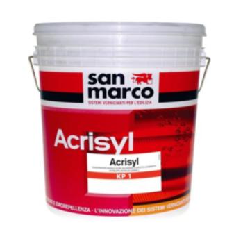 ACRISYL KP1 –  Tencuială decorativă exterior granulatie 1 (acril-siloxanică, antimucegai, antialege, efect compact)