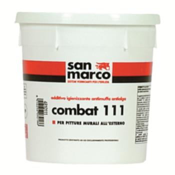 COMBAT 111 – Aditiv igienizator antimucegai, antialge pentru vopsele murale destinate suprafeţelor exterioare