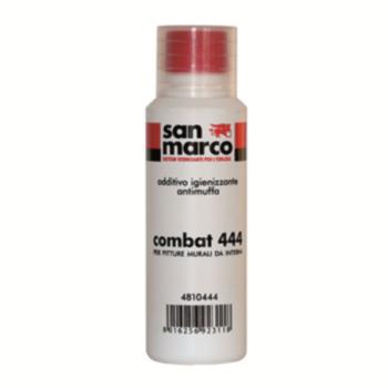 COMBAT 444 – Aditiv igienizator antimucegai pentru vopsele murale destinate suprafetelor interne