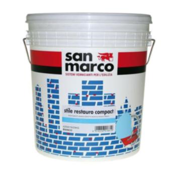 STILE RESTAURO COMPACT – Tencuială decorativă de exterior efect rustic granulaţie 1,8 (înveliş mural efect rustic asperitate 1,8)