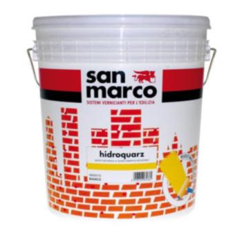 HIDROQUARZ – Vopsea murală pe bază de cuarţ cu putere mare de acoperire pentru exterior