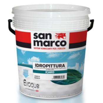 ICARO – Vopsea superlavabila, acrilica cu polisiloxani cu emisie scazuta de compusi volatili pentru vopsirea ambientelor interioare