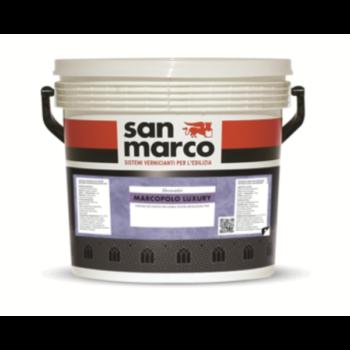 MARCOPOLO LUXURY – Finisaj decorativ pentru interioare – textură rafinată cu efect metalizat fin