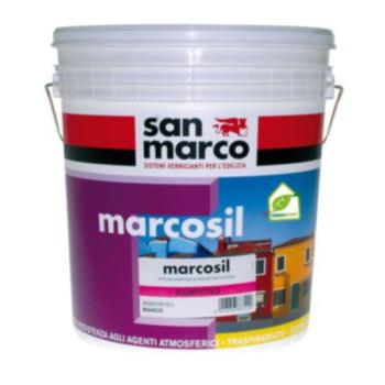 MARCOSIL PITTURA RIEMPITIVA – Vopsea de acoperire pe baza de silicati pentru exterior