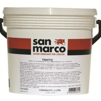 TRAFFIC – Finisaj epoxidic pentru pentru pavimente din ciment, bicomponent, pe baza de apa