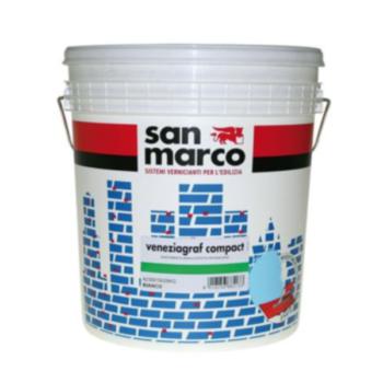 VENEZIAGRAF COMPACT (KP1,2) – Tencuială decorativă de exterior efect compact granulatie 1,2 (înveliş mural efect compact asperitate 1,2)