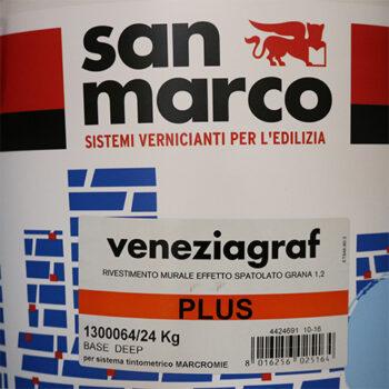 VENEZIAGRAF PLUS – Tencuială decorativă de exterior acrilică cu modificare siliconică (granulaţie 1.2)