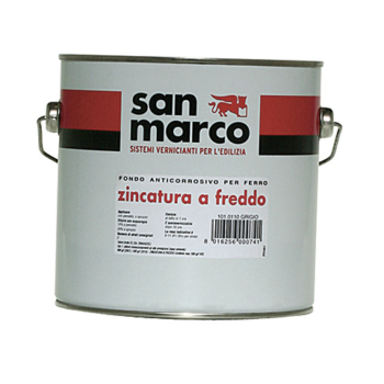 ZINCATURA A FREDDO – Vopsea de fond anticorozivă pentru fier