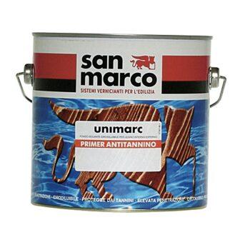 UNIMARC PRIMER ANTITANNINO – Fond izolant diluabil in apă pentru suprafeţe interioare si exterioare din lemn, incolor/alb