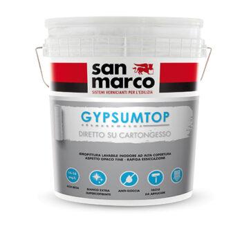 GYPSUMTOP – Vopsea lavabilă opacă cu putere mare de acoperire pentru interior (aplicabilă direct pe placile de rigips)