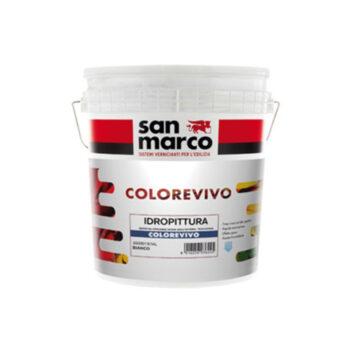 COLOREVIVO – Vopsea superlavabilă pe bază de apă pentru interior – înalt randament metric si de acoperire – uscare rapidă
