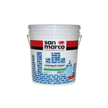 VENEZIAGRAF COMPACT (KP1,2) ANTIALGA – Tencuială decorativă de exterior efect compact, antimucegai, antialge, granulatie 1,2 (înveliş mural efect compact asperitate 1,2)