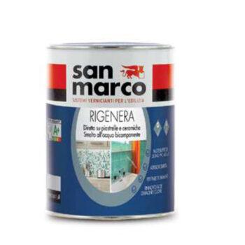 RIGENERA – Email diluabil cu apă din două componente pentru a renova faianţa şi multiple tipuri de suprafeţe interne