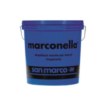 MARCONELLA – Vopsea transpirantă diluabilă în apă, murală, permeabilă pentru interioare