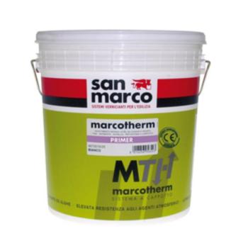 MARCOTHERM PRIMER – Fixativ mural (amorsă) diluabil în apă cu putere mare de acoperire pentru interior şi exterior